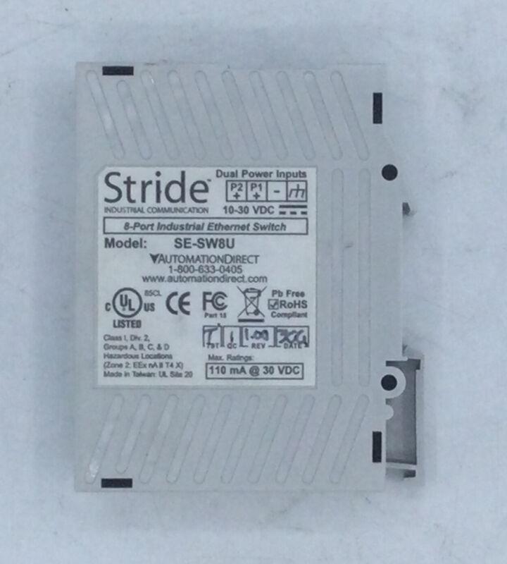 STRIDE/AUTOMATION DIRECT SE-SW8U