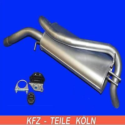 Fiat Stilo - 1.8 16V-2.4 20V Muffler Exhaust System + Assembly Kit