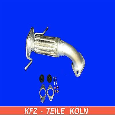 Ford Mondeo 1.8 2.0 BWY B5Y B4Y Exhaust Pipe Hose Pipe Flexi Pipe + Assembly Kit
