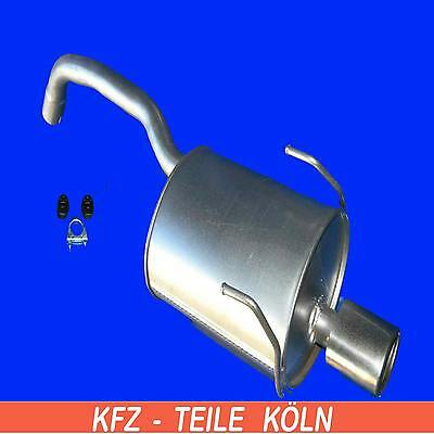 Ford - KA - 1.3 TDCI - Muffler Exhaust System + Assembly Kit
