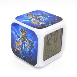 Led Alarm Clock Yu Gi Oh Creative Digital Desk Alarm Clock for Kids Toy Gift