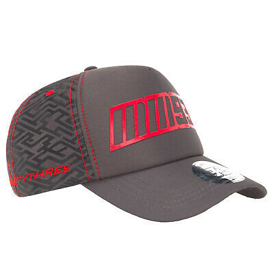2019 Marc Marquez MM93 MotoGP GREY Trucker Style Baseball Cap Adult One Size