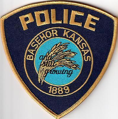 Basehor Police Patch Kansas KS NEW !!!