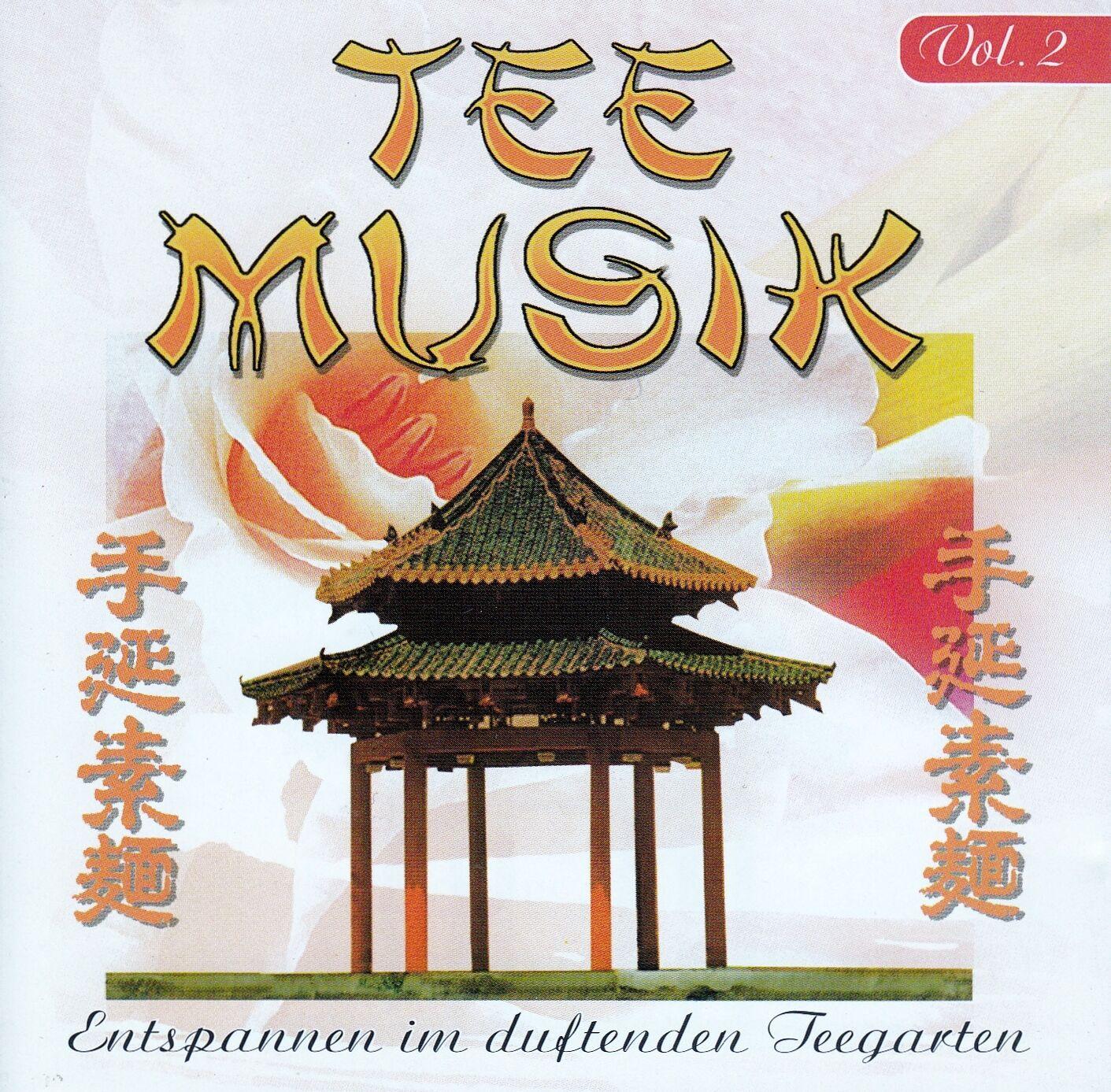 TEEMUSIK VOL. 2 - ENTSPANNEN IM DUFTENDEN TEEGARTEN / CD - TOP-ZUSTAND