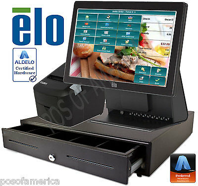 Aldelo Pro Elo Sandwich Shops Restaurant All-in-one Complete Pos System New