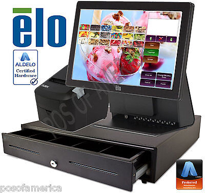 Aldelo Pro Elo Ice-cream Yogurt Shop All-in-one Complete Pos System New