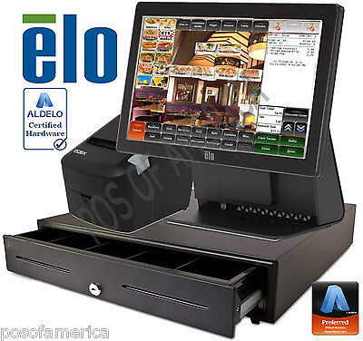 Aldelo2013 Pro Elo Italian Restaurant All-in-one Complete Pos System New
