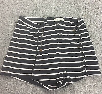ripe Sailor High Waist Shorts Anchor Buttons Halloween Sexy (Cute Sailor Kostüme Halloween)