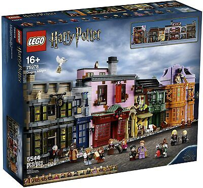 New 2020 Lego Harry Potter Diagon Alley 75978