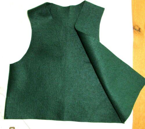 NEW Cadette WOOL BADGE VEST Girl Scouts 1973 Official Uniform HALLOWEEN Combine