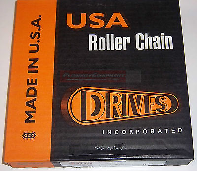 Drives Usa 80 Chain 10 For Skid Steer Loader Bobcat New Holland Case Thomas