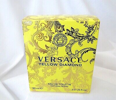 VERSACE YELLOW DIAMOND WOMEN PERFUME EDT Spray 3.0 OZ 90 ML-- BOX ONLY