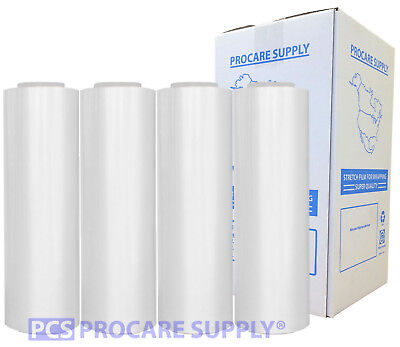 Procare Supply 18x1000 70 Gauge 4 Rolls Pallet Hand Shrink Wrap Stretch Film