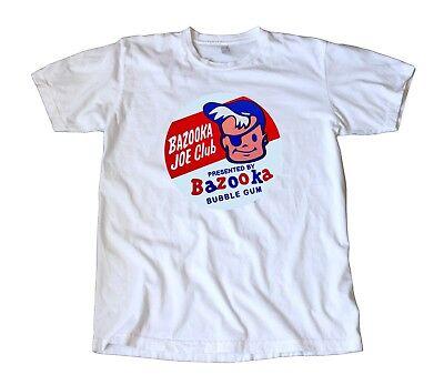 Vintage Bazooka Joe Club Bubble Gum Decal T-Shirt - Topps, Retro! ()