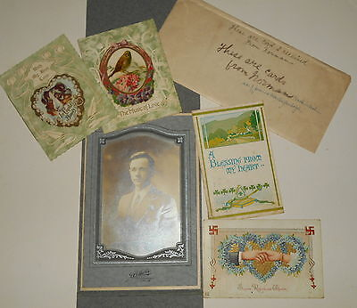 Anitique Photograph   Greeting   Post Cards   Norman Haskin Nash   Bryn Mawr Pa
