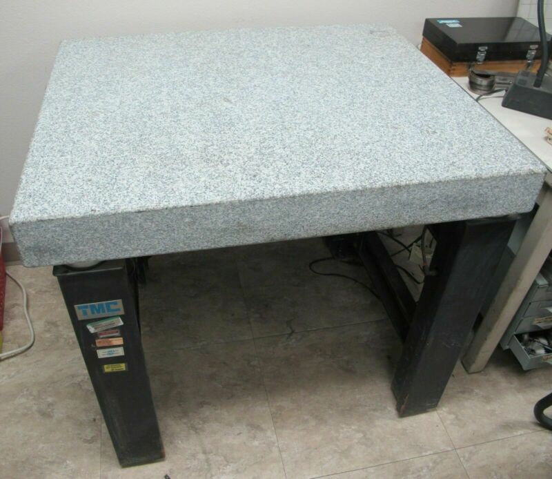 TMC Micro-g High Performance Vibration Isolation Table Model 63-530 Granite Top