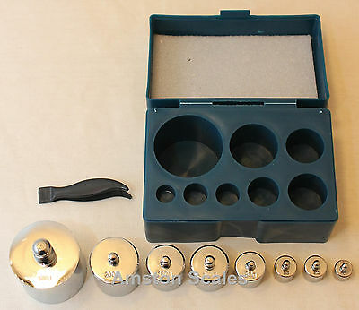 8 Piece 1000 Gram Test Weight Calibration Weight Set Scale Digital Postal Pocket