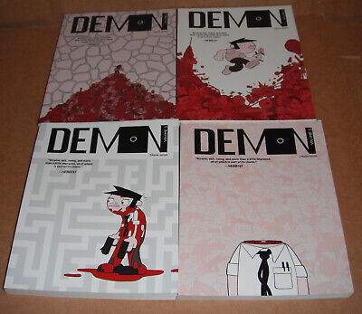 Demon: Demon Vol. 1,2,3,4 by Jason Shiga  Paperback