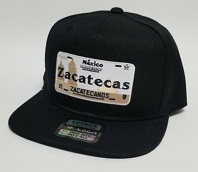 ZACATECAS  MEXICO HAT  BLACK   SNAP BACK ADJUSTABLE   NEW for sale  Wilmington