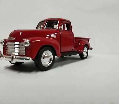 1957 Chevrolet 3100 Pickup Truck Red 5  Diecast Model   43708D R