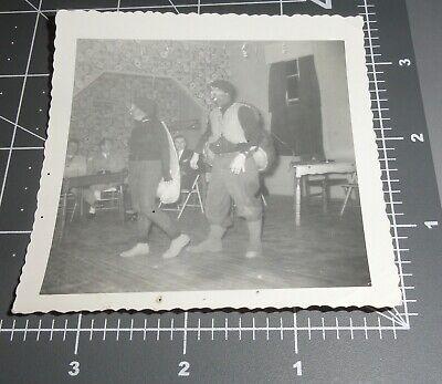 Homemade Halloween Costume For Men (1950's BUG FLY Halloween Homemade COSTUME Weird Man Woman Vintage Snapshot)