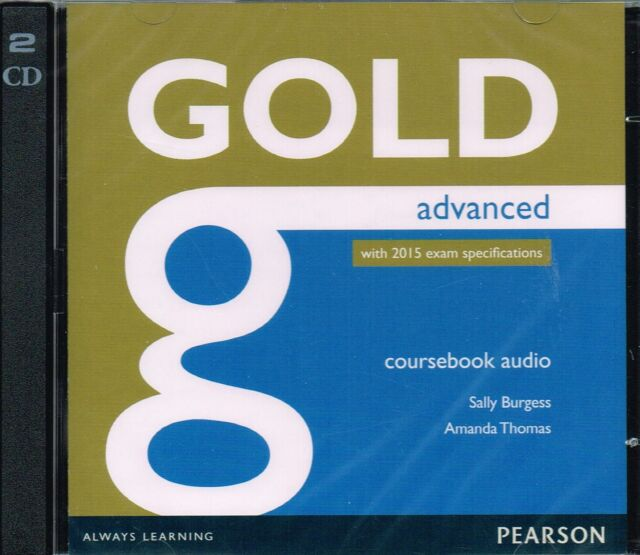 Pearson GOLD ADVANCED CAE Coursebook AUDIO CDs w 2015 Exam Specifications @NEW@