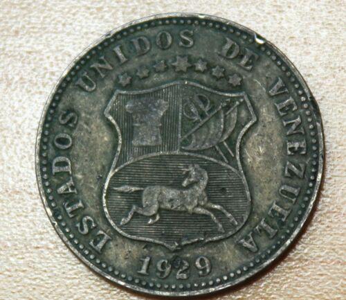 1929 Venezuela 12 1/2 Centimos