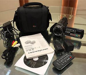 Sony Handycam 64GB HDR-CX550 + 2batteries & case Mount Druitt Blacktown Area Preview