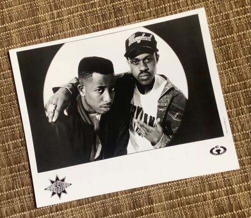 Gang Starr - Press Photo - Step In The Arena - Guru - DJ Premier - OG - 1990