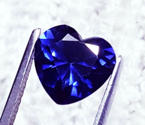 Natural Tanzanite Heart Certified Loose Gemstone 5 to 7 Ct With Free Delivery