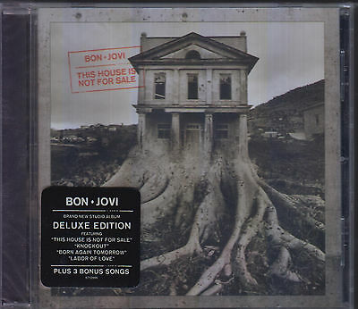 Cd   Bon Jovi New This House Is Not For Sale Deluxe Edition Usa Fast Shipping