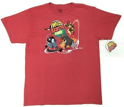 PBS Wild Kratts KRATT BROTHERS LIVE Boys Youth T-Shirt NWT Licensed & Official  ()