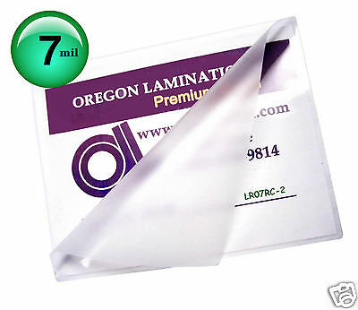 200 Letter Size Hot 7 Mil Laminating Pouches 9 X 11-12 Clear