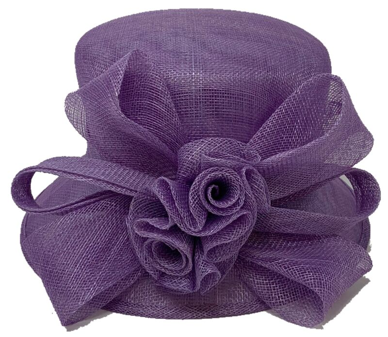 Church DURBY Dress HAT SINAWAY DOUBLE BOW
