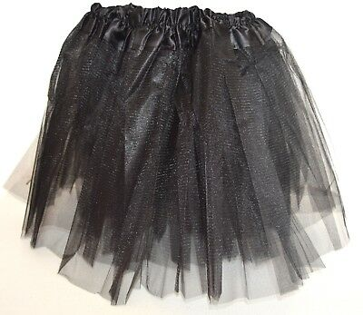 NEW Black net tutu with triple layered skirt - Triple Kostüme