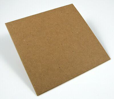 Blank CD/DVD Sleeves 100% Recycled Brown Kraft Chipboard - 100/box UNBRANDED Cd Jewel Cases Recyclable
