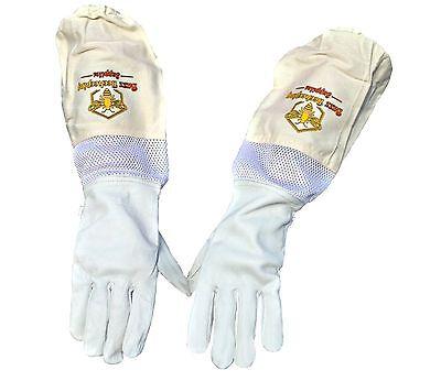 Beekeeping Goatskin Gloves Canvas Goatskin Large