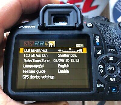 MINT Canon Rebel EOS T5 Camera Body below 1K SHUTTER COUNT