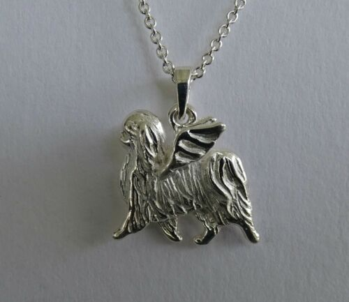 Sterling Silver Japanese Chin Angel Pendant Pendant