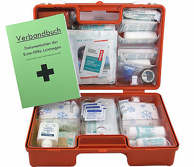 Erste-Hilfe-Koffer M2 PLUS für Betriebe DIN EN 13157 + Beatmung + Desinfektion