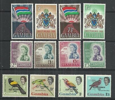 (A96) Gambia - 1960s–1980s UM Selection (10 Scans)