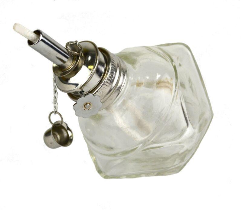 "Alcohol Glass Burner Lamp Adjustable 3/16"" Wick Jewelers Hobby Lamp"