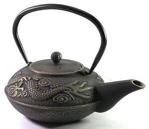 Buckingham Imperial Dragon Japanese Cast Iron Teapot Kettle Tea Pot 700 ml