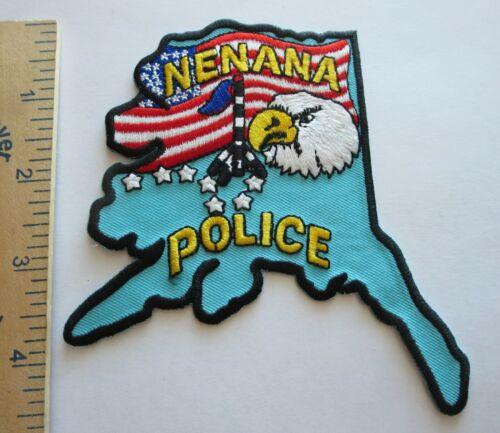 NENANA ALASKA POLICE PATCH Vintage Original
