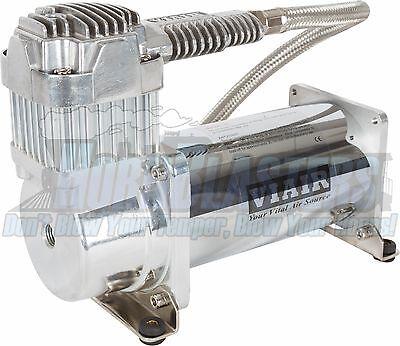 Viair 400C Chrome Heavyweight Air Compressor for Train Horns/Air