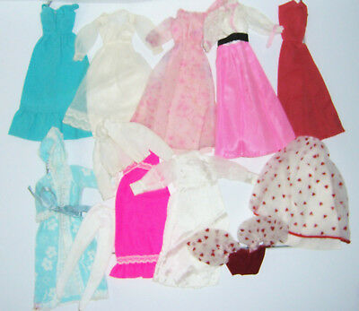 VINTAGE BARBIE MOD SEVENTIES OUTFITS. NICE LOT NO ISSUES. NOT FOR THE MINT COLLE - Seventies Outfit