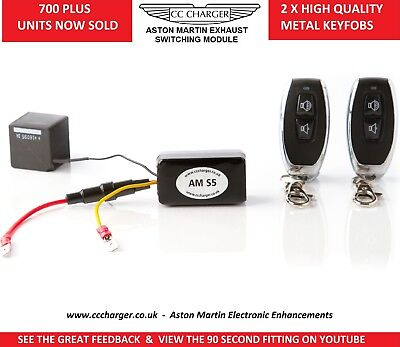 Aston Martin Exhaust Bypass Remote Control S5 DB9, DBS, Virage, V12 Vantage