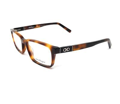 Salvatore Ferragamo Eyeglasses SF2772 214 Tortoise Rectangle Men's (Tortoise Glasses Men)