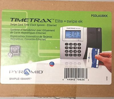 Time Clock System Pyrmaid Simple Start Timetrax Elite Psdlaubkk