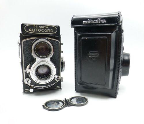 Minolta Autocord L-MX TLR Camera Chiyoko Rokkor 75mm 3.5 Seikosha MX Shutter